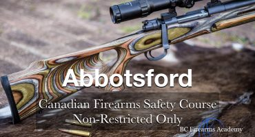 NON-RESTRICTED ONLY CFSC (non-restricted PAL) Abbotsford Fri April 10