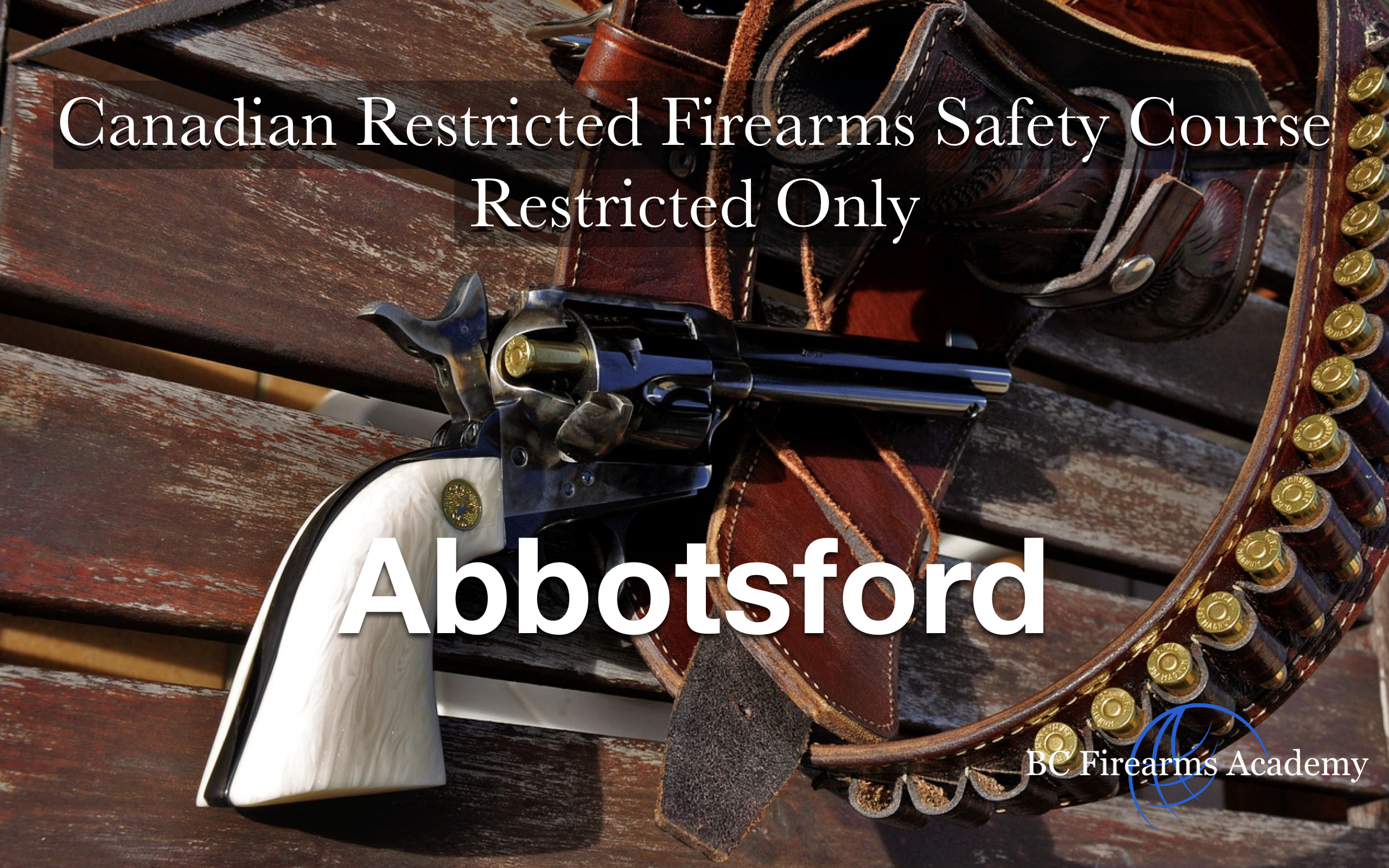 Canadian restricted firearms safety course (CRFSC) for restricted firearms