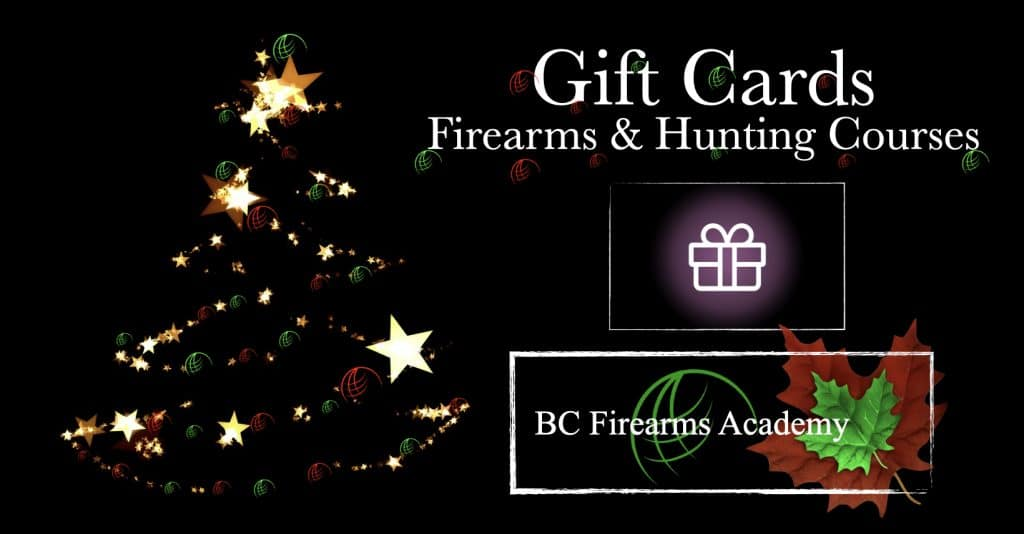 PAL & Hunting Course Gift Cards